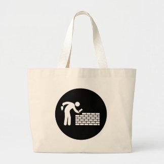 Bricklayer Jumbo Tote Bag