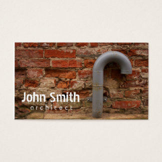 Bricks And Tube Architect Business Card