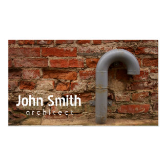 Bricks And Tube Architect Business Card