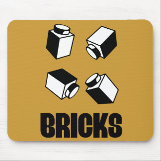 BRICKS by Customize My Minifig Mouse Pad