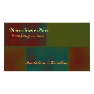 Bricks Template Pack Of Standard Business Cards