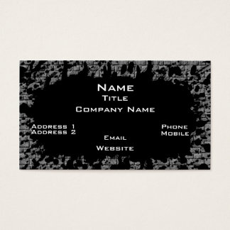 Brickwall Business Card