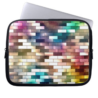 Brickwall Neoprene Laptop Sleeve 10 inch
