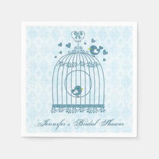 Bridal Bird Cage Paper Serviettes