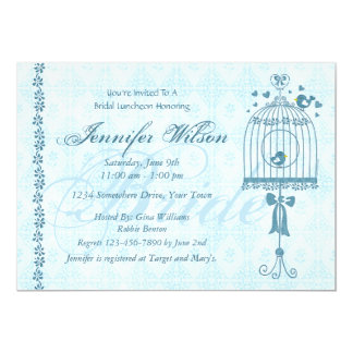 Bridal Birdcage Wedding Shower Invitation
