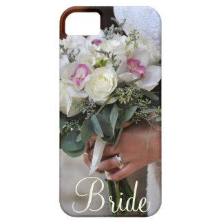Bridal bouquet print iphone case