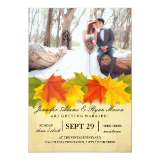 Bridal Bouquet Red Flowers/fall theme Card