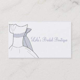 Bridal boutique business cards zazzle au bridal boutique business card reheart Gallery