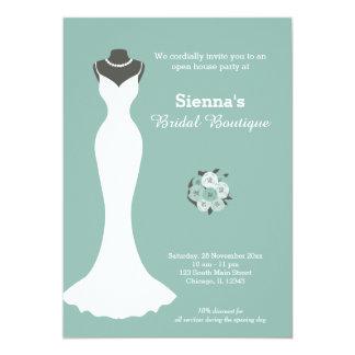 Fashion boutique shop invitations announcements zazzle bridal boutique choose your background color card stopboris Gallery