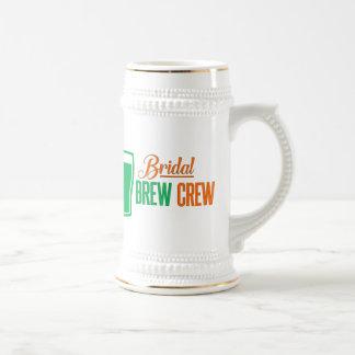 Bridal Brew Crew St. Patricks Bachelorette Stein