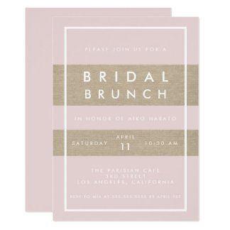 Bridal Brunch Party Invitation