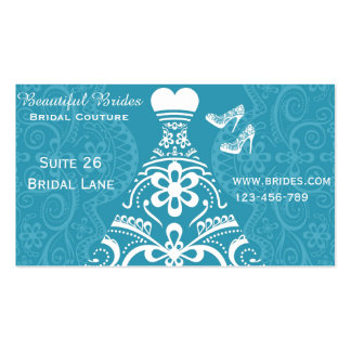 Bridal Couture, Bridal Wear, Wedding dress designs Pack Of Standard Business Cards