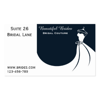 Bridal Couture, Bridalwear, Wedding dress designs Pack Of Standard Business Cards