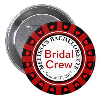 Bridal Crew Bachelorette button