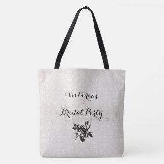 Bridal-Damask-TEMPLATE-Multi-Sz- Tote Bag