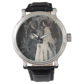 Bridal Dance Painting Watch by Willowcatdesigns