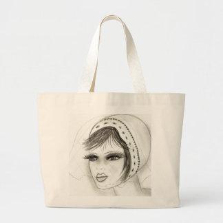 Bridal Deco Girl Jumbo Tote Bag