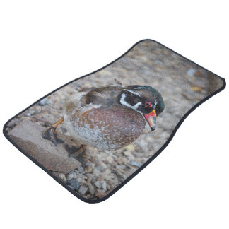 BRIDAL DUCK - WOOD DUCK - photo Jean Louis Glineur Floor Mat