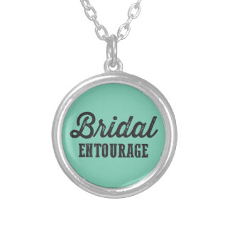 Bridal Entourage Silver Plated Necklace