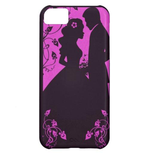 Bridal Floral - Pink iPhone 5C Case