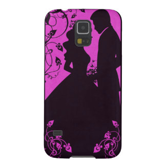 Bridal Floral - Pink Galaxy S5 Cover