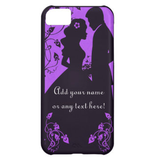 Bridal Floral - purple iPhone 5C Covers