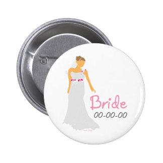 Bridal Giftware 6 Cm Round Badge