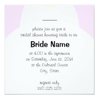 Bridal Gown Shower Invitation