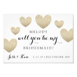 Bridal Party Card - Fab Hearts