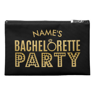 Bridal Party Custom Gold Bachelorette Party Bag