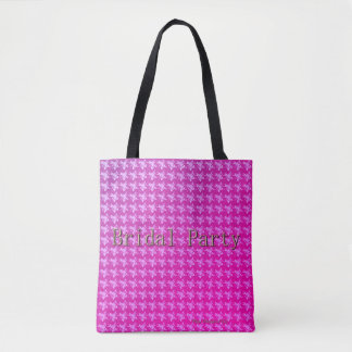 Bridal-Party-FULL BLOOM PINK ROSES _Multi-Style' Tote Bag