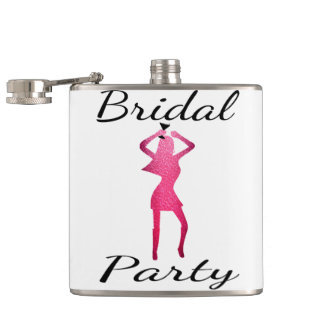 Bridal Party! Hip Flask