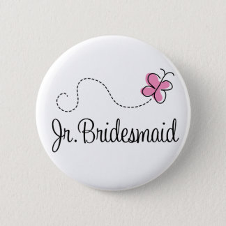 Bridal Party Jr Bridesmaid Button