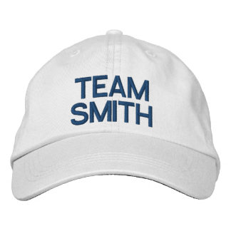 Bridal Party Personalized Adjustable Hat Embroidered Hat