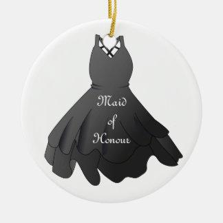 Bridal Party Wedding Dress Maid of Honour Ornament