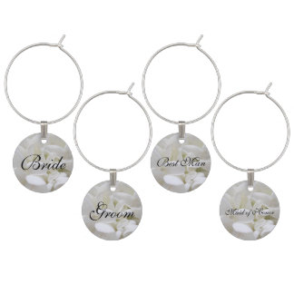 Bridal Party Wine Charms