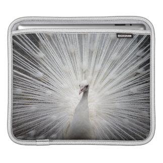 Bridal Peacock iPad pad Horizontal iPad Sleeve