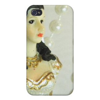 Bridal Pearls iPhone 4/4S Covers