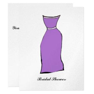 Bridal Shower 11 Cm X 14 Cm Invitation Card