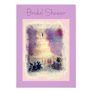 Bridal Shower 13 Cm X 18 Cm Invitation Card