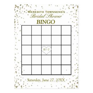 Bridal Shower Bingo Cards Invitations Zazzlecomau