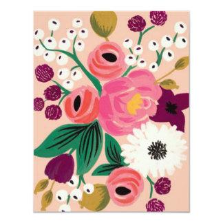 Bridal Shower Blossoms 11 Cm X 14 Cm Invitation Card
