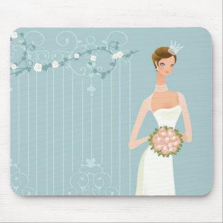 Bridal shower bouquet mousepad