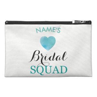 Bridal Shower Bride Squad Bridal Bachelorette Bag Travel Accessory Bag