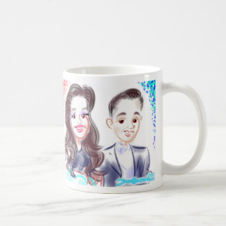 Bridal Shower Caricatures Mug 2014c