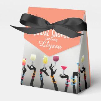 Bridal Shower Cocktail Party Favor Box