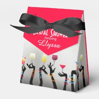 Bridal Shower Cocktail Party Wedding Favor Box
