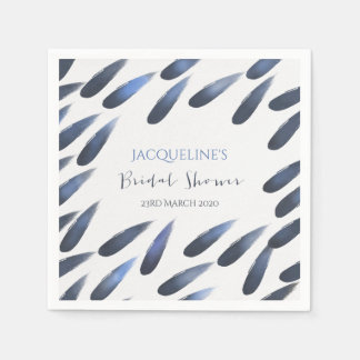 Bridal Shower Custom Name Wedding Napkins Disposable Napkin