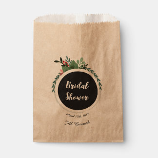 Bridal Shower Favor bags Favour Bags