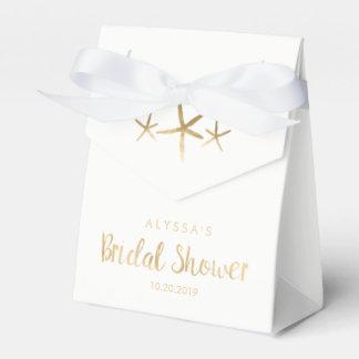 Bridal Shower Favor Box - Beach, Ocean, Starfish